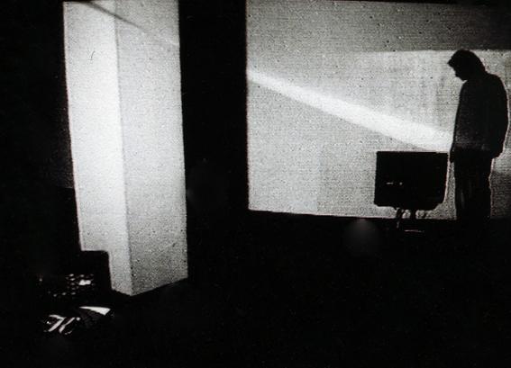OOSOOM visad som interaktiv videoinstallation på TV-Gallery i Moskva 2001